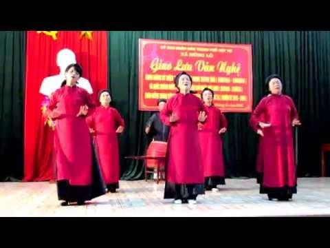 Hát Xoan : Bỏ Bộ   (Clb Hát Xoan Nhà VH TP Việt Trì)
