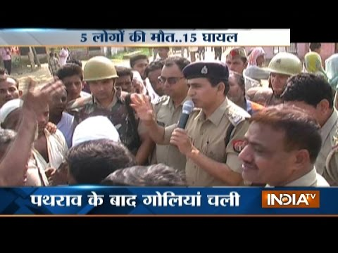 UP: 5 Killed In Clash After Girl Harassed In Bijnor