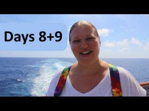 Sea & Ship! Day 8 & 9 of our FUN Cruise! Vlog Episode 23