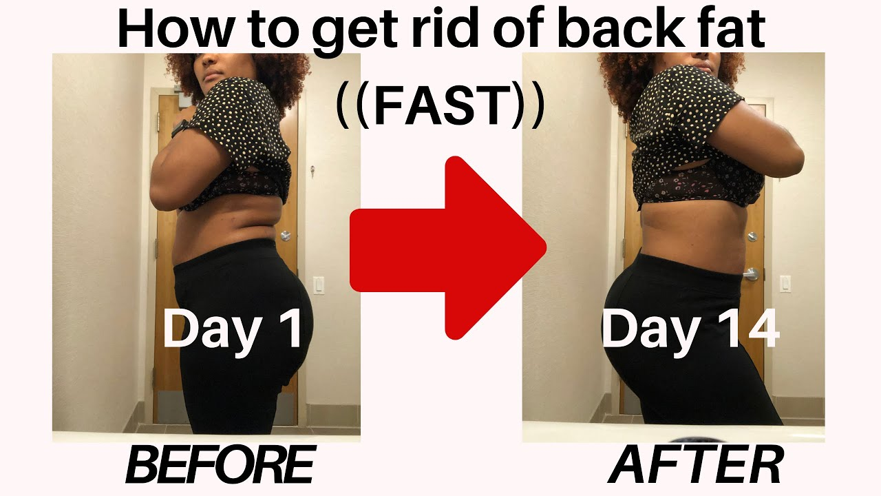 How to lose back fat in 12 weeks  This will change your life! Drastic  change to your body in days!!!