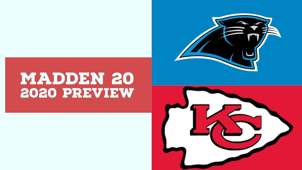 2020 Week 9 Preview - Carolina Panthers vs Kansas City Chiefs - Simulation Nation