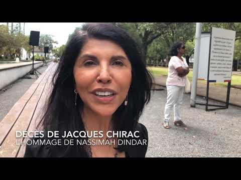 Décès De Jacques Chirac : L'hommage De Nassimah Dindar