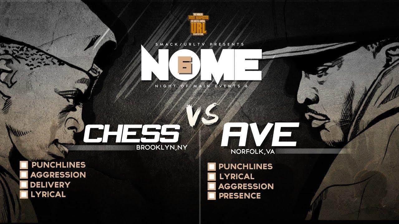CHESS VS AVE SMACK/ URL RAP BATTLE