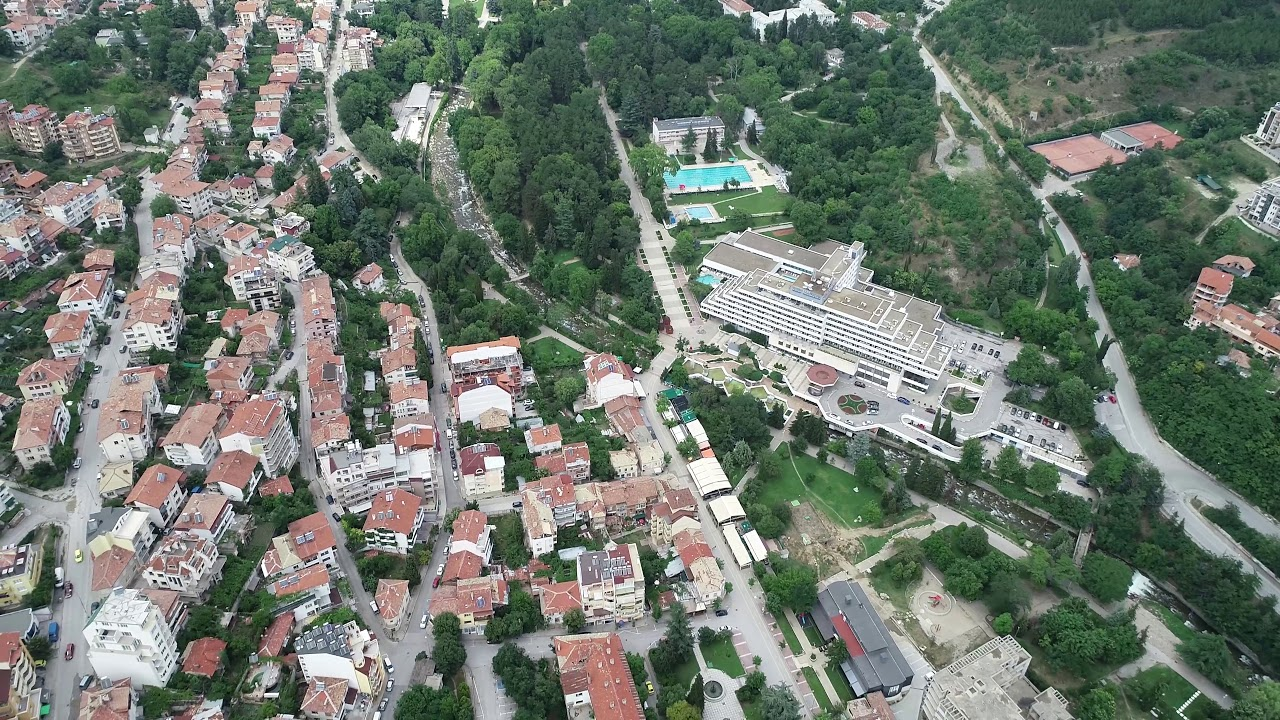 Вижте Сандански от птичи поглед! Още един уникален български град!