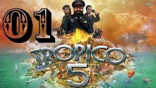 Tropico 5 [LP - Ger. - HD] #01 - Meine neue Insel