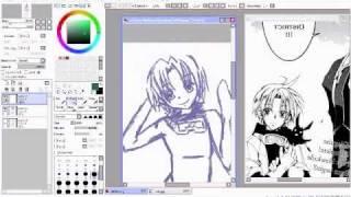 Sketching Teito Klein/ G. Pink Prince Version (07-Ghost Manga)
