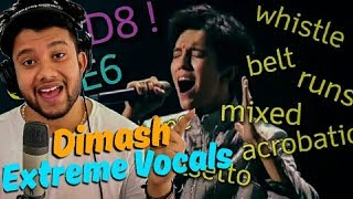 Download lagu Singer Reacts to Dimash Extreme Vocals D8 who does that