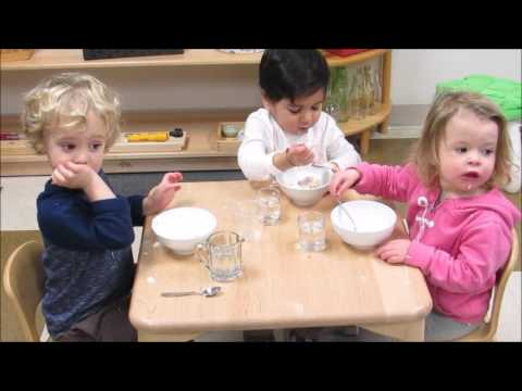 Toddler Independence: Lunch at GTMS