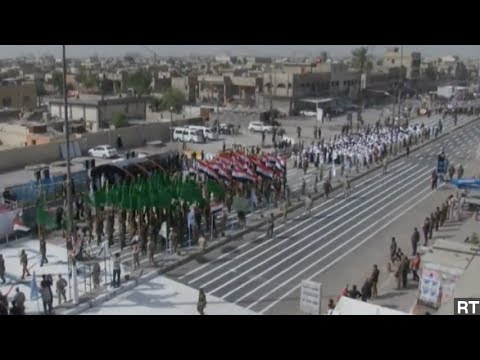 Iraq's Shiites March Through Baghdad In Show Of Strength