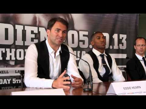 ANTHONY JOSHUA MBE TURNS PROFESSIONAL WITH MATCHROOM SPORT - FULL PRESS CONFERENCE 'CARPE DIEM'