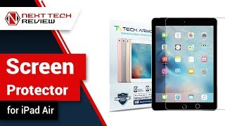 iPad Air Screen Protector Product Review  – NTR