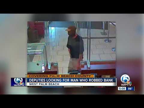Wells Fargo bank robbed in suburban West Palm Beach
