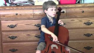 David Popper Hungarian Rhapsody (Keenan, age 9)