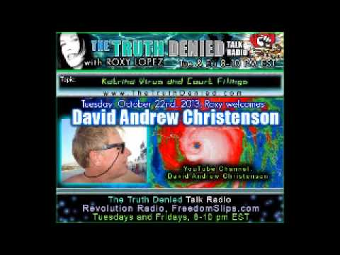 David Andrew Christenson Whistleblows New Orleans INJUSTICE and Murder & Katrina Virus