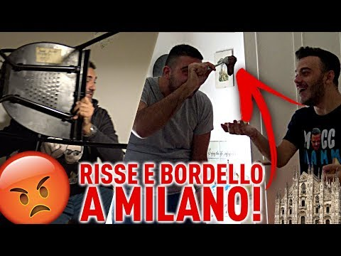 RISSA E BORDELLO A MILANO!!!