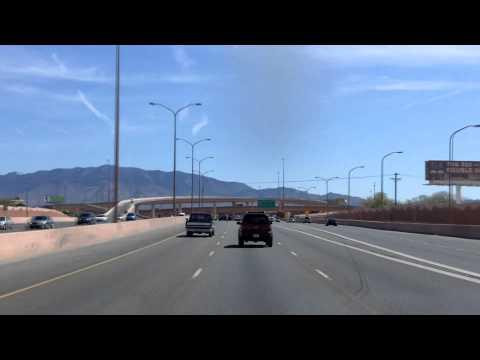 Passing through Albuquerque, New Mexico