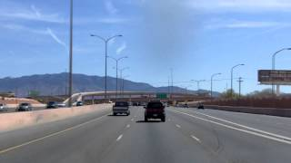 Passing through Albuquerque, New Mexico