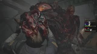 Resident Evil 2 Hardcore #7: Boss Oczkowski Padł