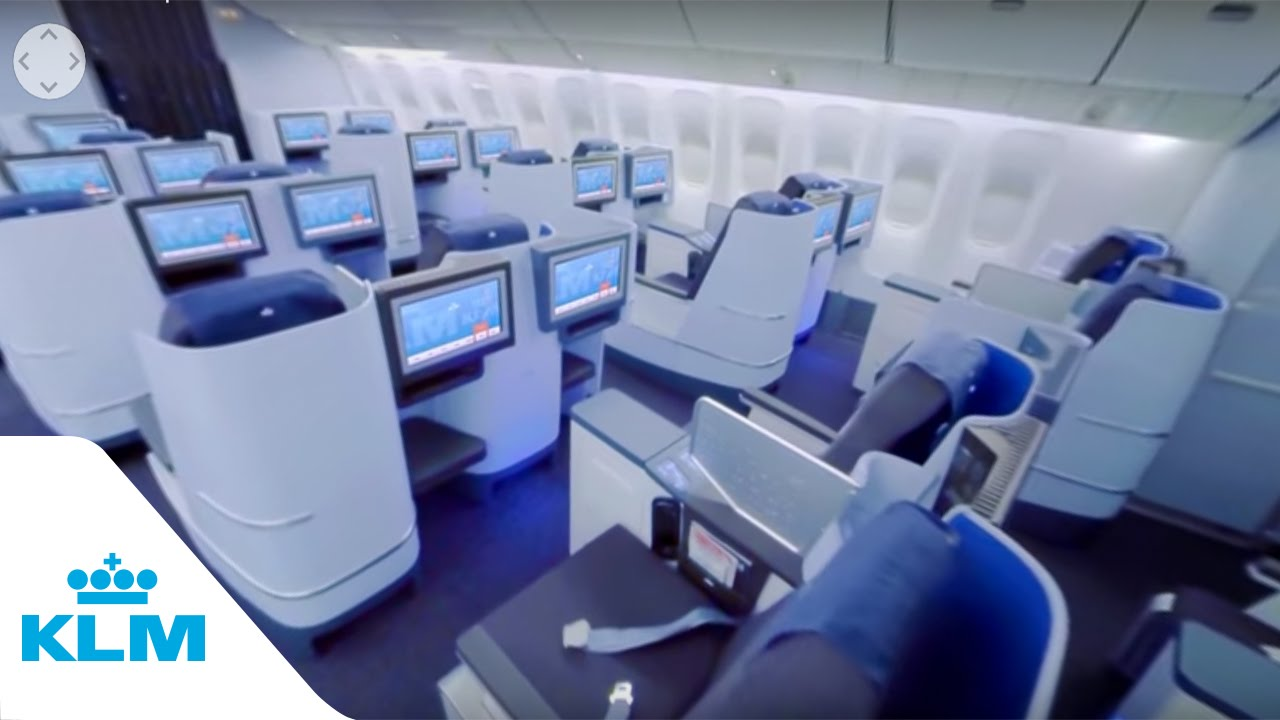 Klm 360 Experience B777 Business Class Youtube