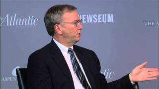 Eric Schmidt on Google vs. Facebook