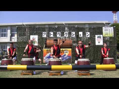 陸自下志津駐屯地「黒潮太鼓」 Taiko Drum Performance By JGSDF [HD]