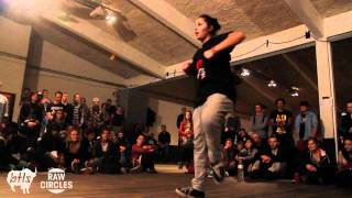 Junbox vs. Cherinne Ghetto Style | RAW CIRCLES 2012 | HIpHop Final