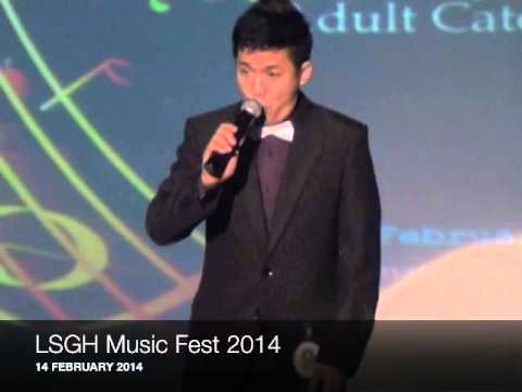 Jamby Santos at the La Salle Green Hills Music Fest 2014