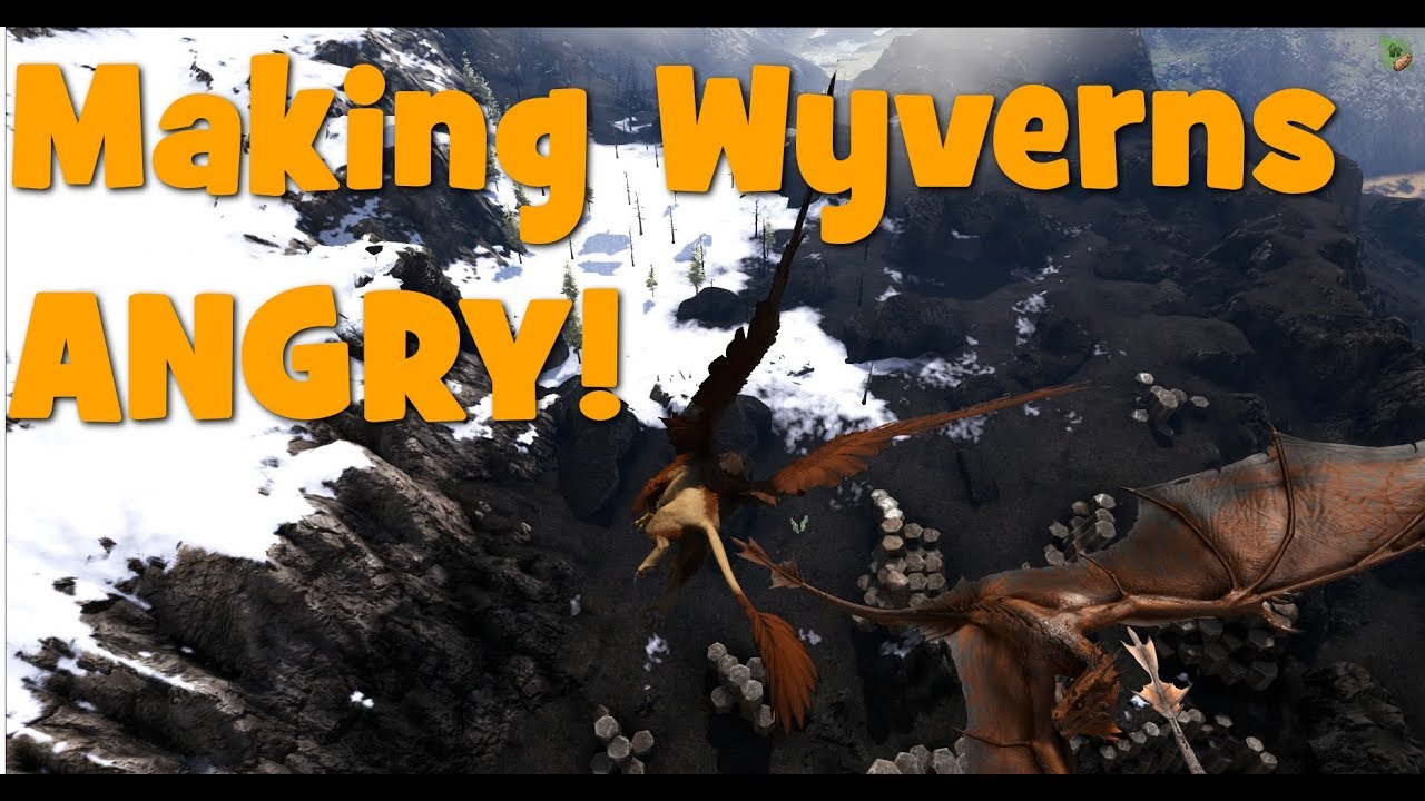 Ark - Ragnarok - How to get Wyvern Eggs and Milk - YouTube