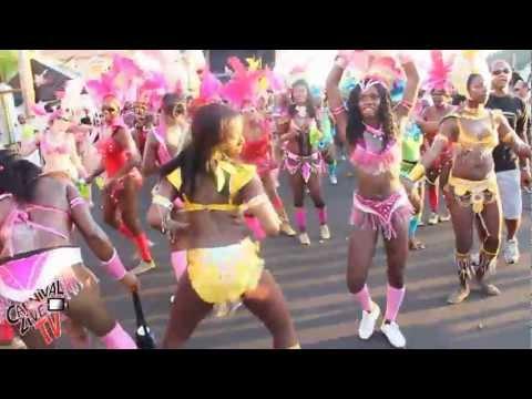 Grenada Carnival Spice Pretty Mas on the Caranage Carnival Live Tv