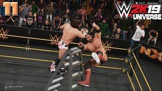 WWE 2K19 Universe Mode - Worlds Collide #11: Stronger. Balder. Beardier.