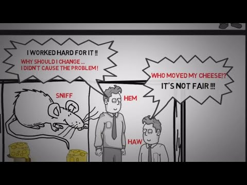 HOW TO DEAL WITH CHANGE - WHO MOVED MY CHEESE BY SPENCER JOHNSON | Animated Video Audio Book Summary