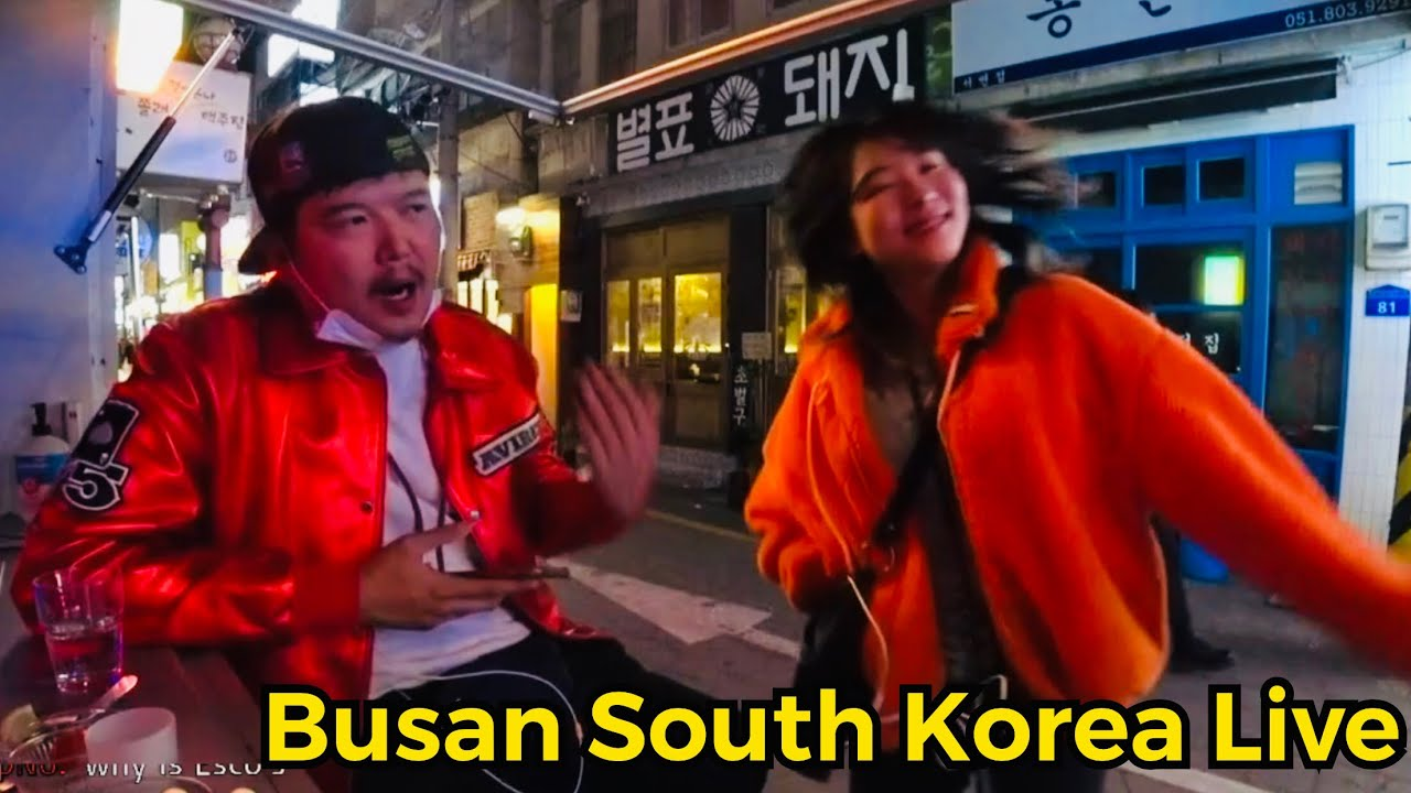 [LIVE] Busan chilling south korea