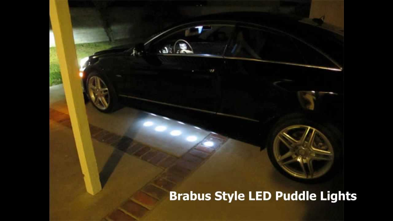 Mercedes W212 E350 Coupe Installed Brabus Style Led Under