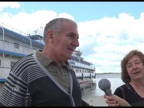 Туристический теплоход «Ремикс» посетил Колпашево