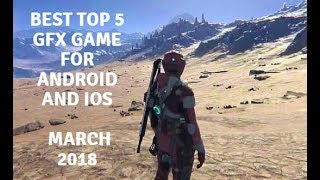 Top 5 GFX offline/Online Android iPhone iOS Games Under 100MB l April 2018