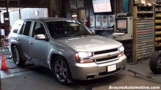 '08 TrailBlazer dyno run