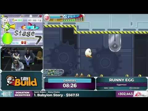 Runny Egg by danray in 22:46 - SGDQ 2016 - Part 83
