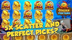 RECORD WIN!!! Golden Fish tank Big win - Casino - free spins (Online Casino)