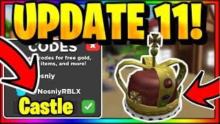 *NEW* CODES FOR TREASURE QUEST UPDATE 11 |🏰CASTLE DUNGEON🏰 UPDATE (Roblox)