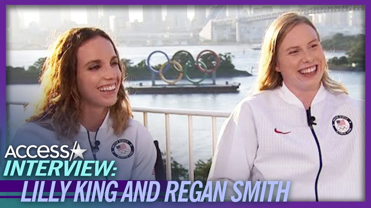 Lilly King & Regan Smith Gush Over Their Olympic Medals