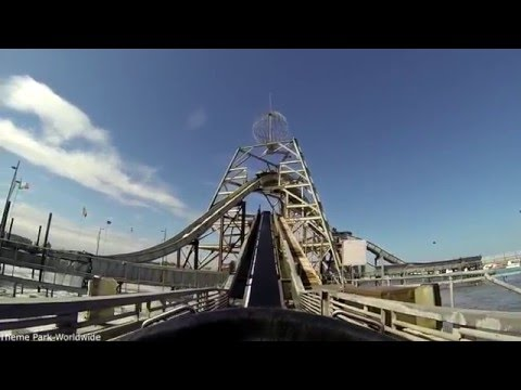 Log Flume HD On Ride POV Great Yarmouth Pleasure Beach