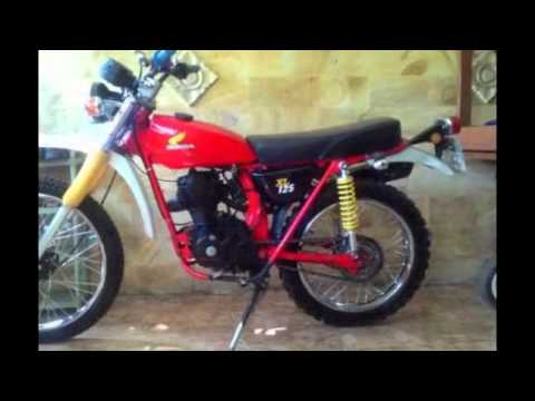Video ModifikAsi Motor Jadul Honda Gl100 Trail & Motor Honda Xl Trail Terbaru