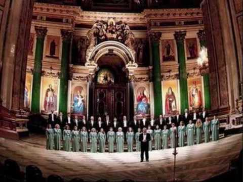 St. Petersburg Chamber Choir: Lord, now lettest Thou Thy servant depart in peace (5)