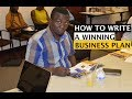How To Write A Winning Business Plan for Business Startup.