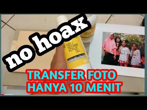 TRANSFER FOTO KE KAYU HANYA 10 MENIT WITH DF 74 INFO PRODUK WA 0853 1718 2333
