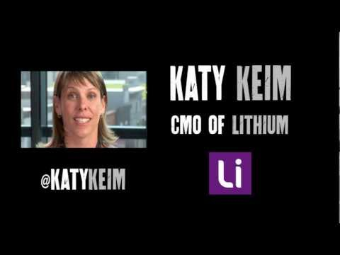 Interview with Katy Keim of Lithium, Part 1 | Edge of the Web Radio