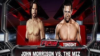 WWE 2K14: John Morrison vs The Miz