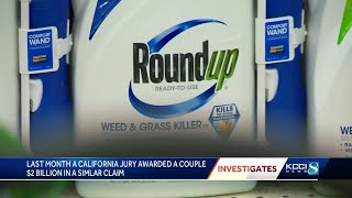 Iowa couple's lawsuit blames Roundup for cancer diagnosis The lawsuit comes less than a month after a California jury awarded a couple $2 billion in punitive damages for a similar claim. Subscribe to KCCI on YouTube ..., From YouTubeVideos