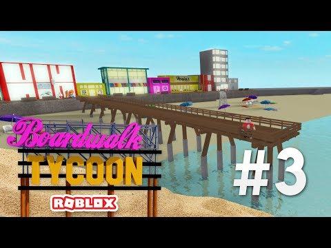 BOARDWALK TYCOON #3 - HUGE PIER (Roblox Boardwalk Tycoon)