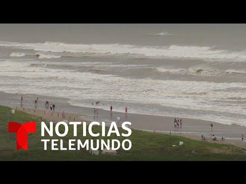 Huracán Hanna toca tierra en las costas de Texas | Noticias Telemundo